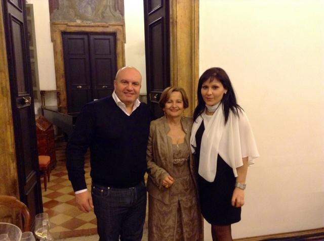 Con Elena Martusciello, Presidente Nazionale Donne del Vino